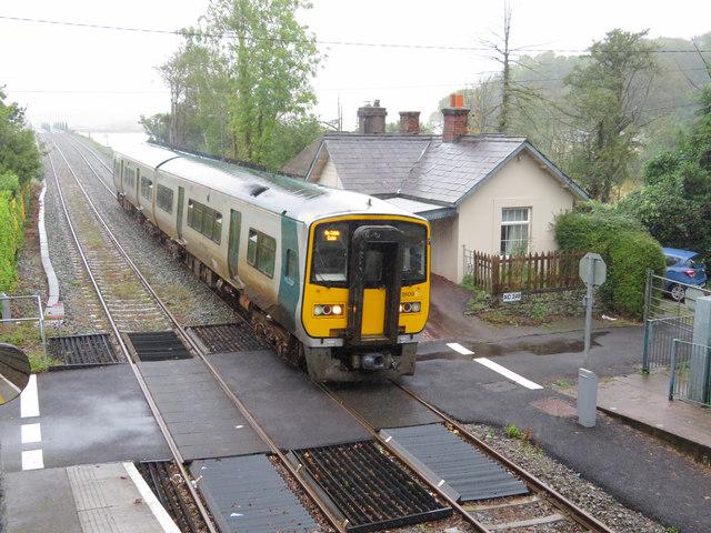 The Cobh train at Fota