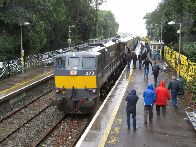 Railtour at Fota