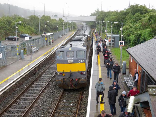 Railtour at Littleisland