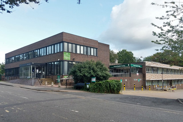 Oxted library and health centre