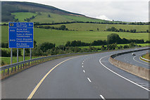 S0582 : Westbound M7 towards Junction 23 (Moneygall) by David Dixon