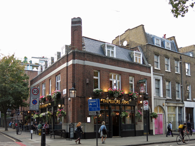 The Lucas Arms, Gray's Inn Road / Cromer Street, WC1