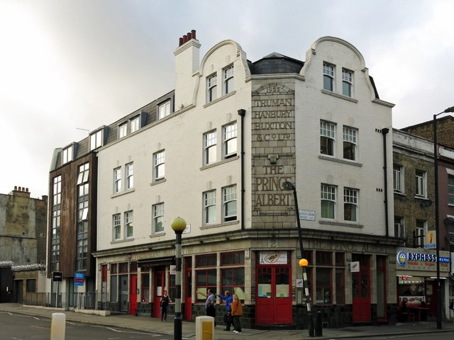 The (former) Prince Albert, King's Cross Road / Acton Street, WC1