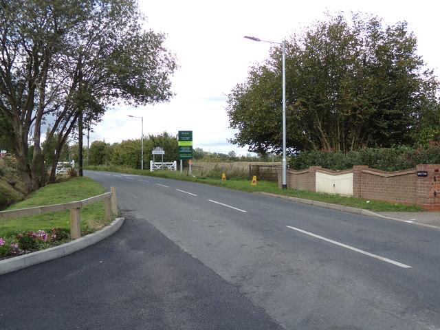 Leaving Silver End on Boars Tye Road