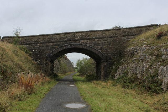 Bridge over the Tissington Trail