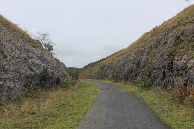 Cutting on the Tissington Trail