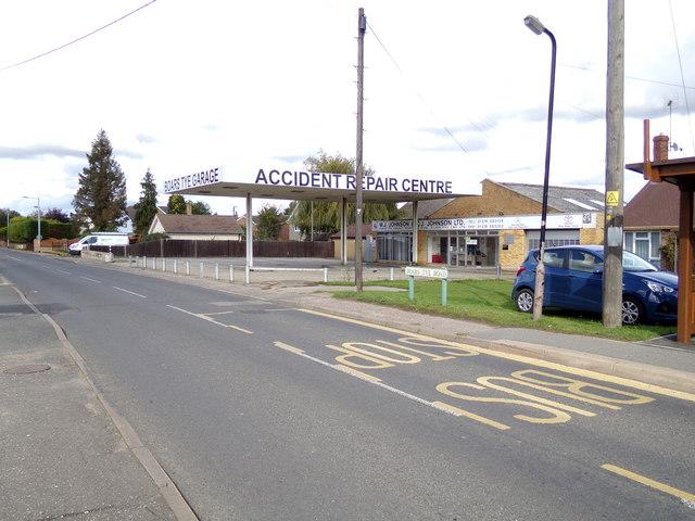 Boars Tye Garage, Silver End
