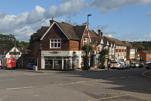 Shops, Station Road East, Oxted