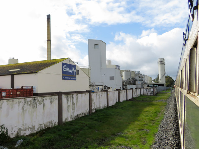 The Cadbury factory in Rathmore