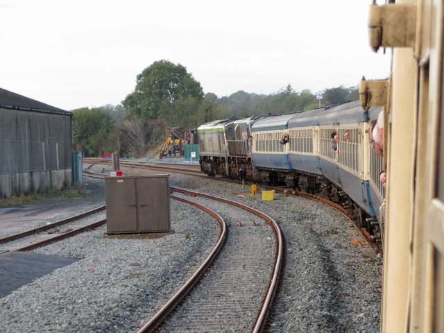 Railtour at Mallow