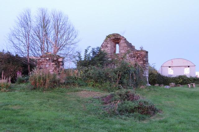 Ruins in Bluebell cemetery, Dublin