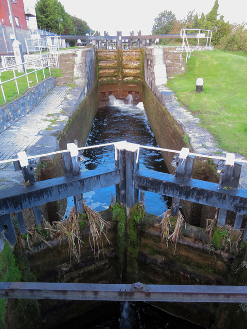 Lock on the Grand Canal at Blackhorse