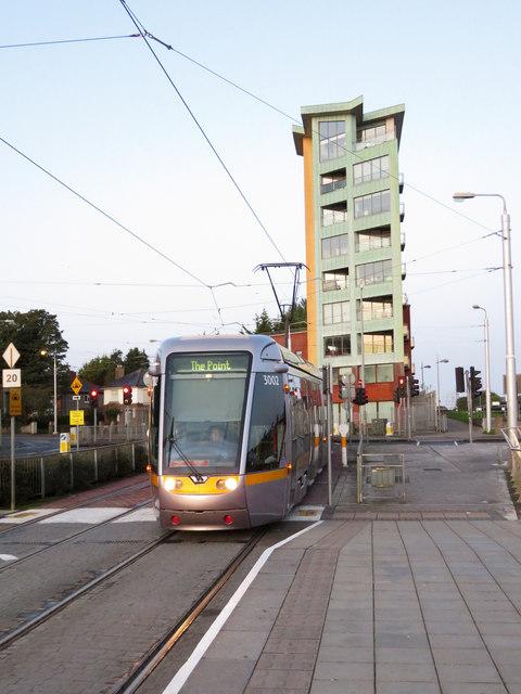 Luas tram at Blackhorse