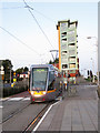 O1132 : Luas tram at Blackhorse by Gareth James