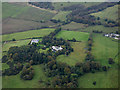 NS4160 : Hallhill House from the air by Thomas Nugent