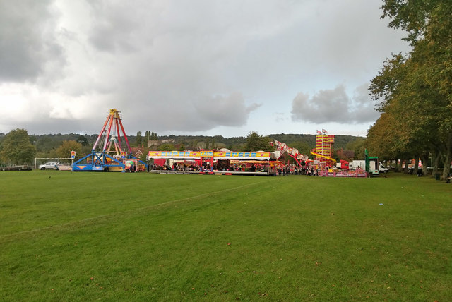 Funfair, Master Park, Oxted