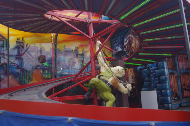 Ghost train - Goose Fair