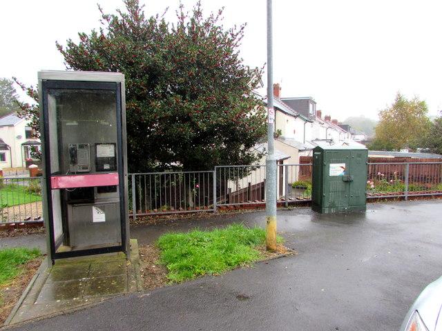 BT phonebox, Lon-y-celyn, Cardiff