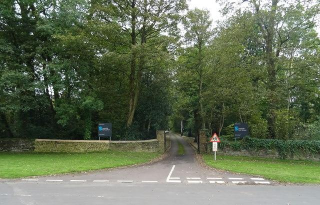Entrance to Swalcliffe Park School