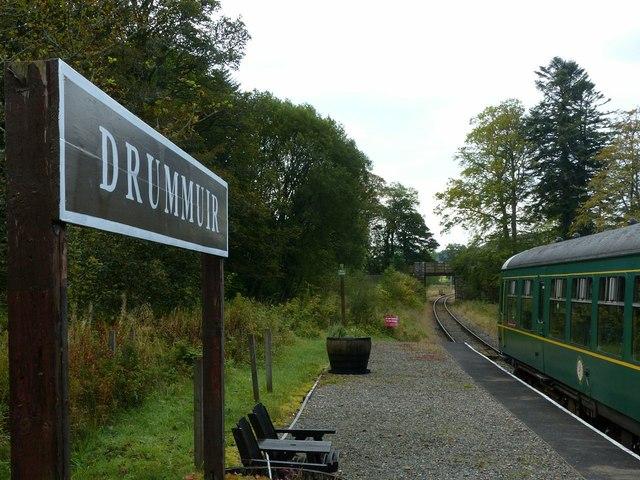 Drummuir Station, Whisky Line