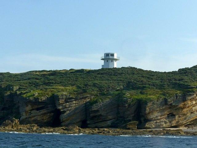 Cliffs below the Gordonstoun Tower