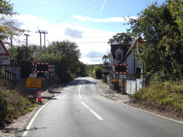 White Notley Level Crossing