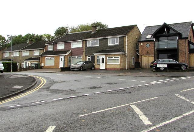 Mountbatten Close houses, Heath, Cardiff