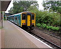 ST1880 : Coryton train arriving at Heath Low Level station, Cardiff by Jaggery