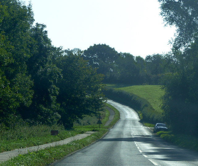 Road to Upper Hambleton