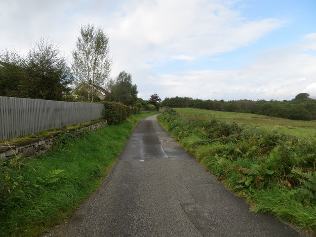 Minor road at Pony Park