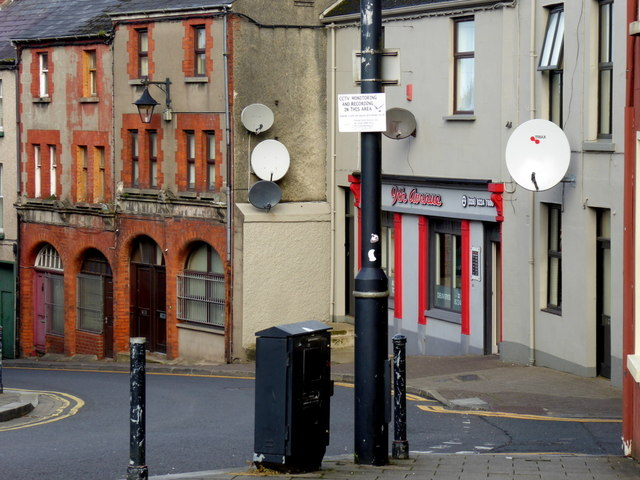 Satellite dishes, Omagh