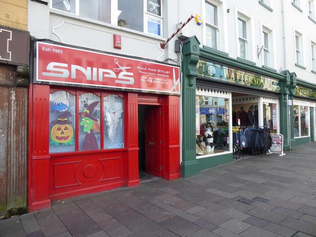 Snips, High Street, Omagh