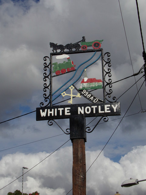 White Notley Village sign