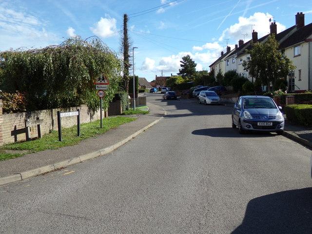 Vicarage Avenue, White Notley