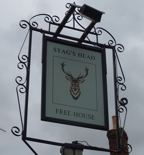 Sign for the Stag's Head, Swalcliffe