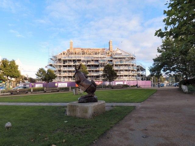 Rebuilding the Tudno Castle Hotel