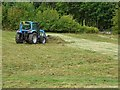SO7844 : Tractor on Malvern Common by Philip Halling