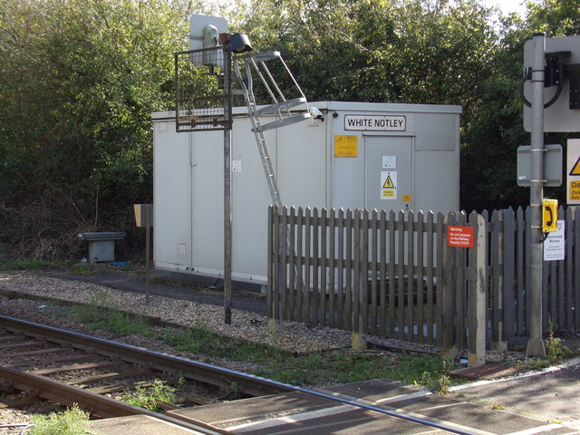 White Notley Level Crossing Equipment Room