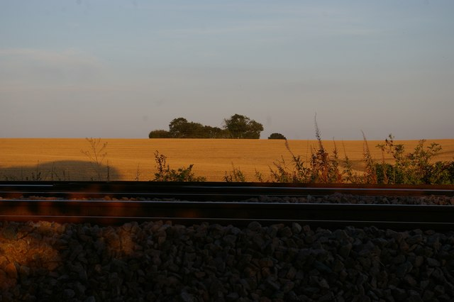 Looking across the railway at Saxmundham Junction