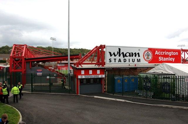 The Wham Stadium by Steve Daniels