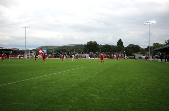 The Coppice Stand at the Wham Stadium