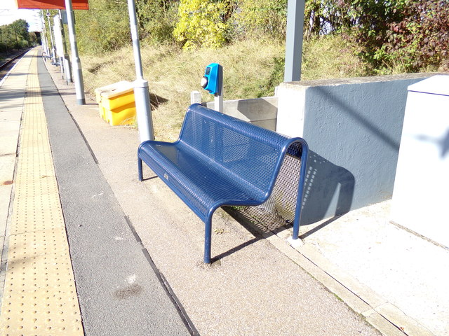 Seat at White Notley Railway Station