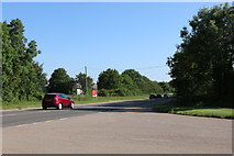 SP8954 : The A509 by Warrington House Farm by David Howard