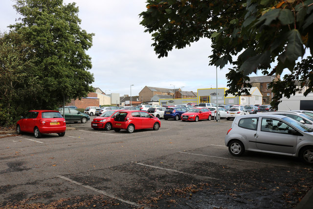 Car Park, Ayr by Billy McCrorie