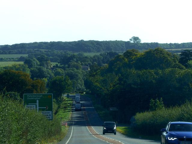 A47 north of Tixover