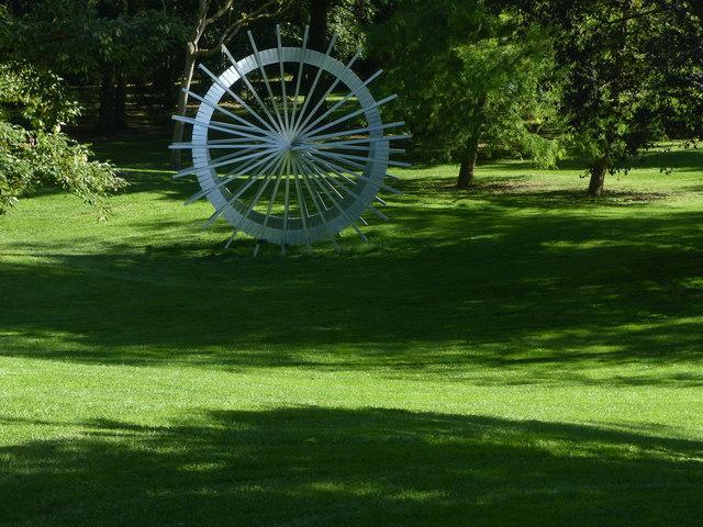 Burghley House sculpture garden