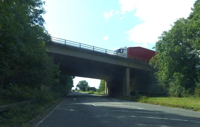 A1 crossing Kettering Road