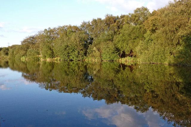 Macclesfield Canal near Higher Poynton in Cheshire by Roger  Kidd