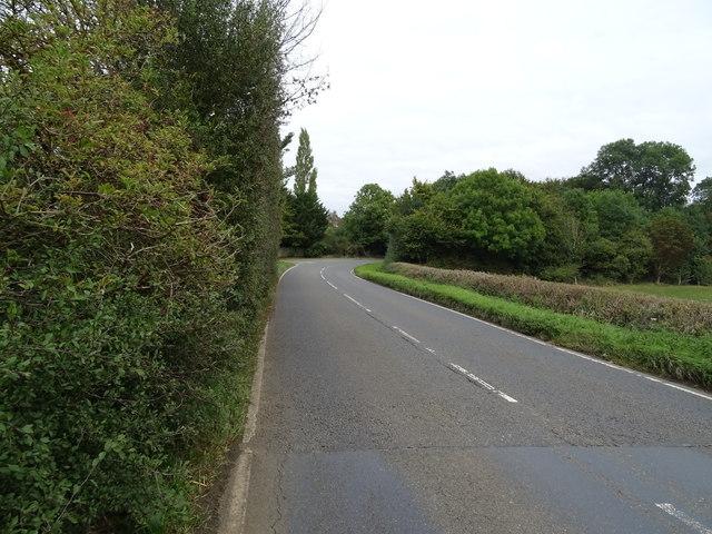 B4035 towards Banbury