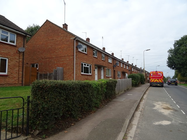 Houses on Woodgreen Avenue, Banbury